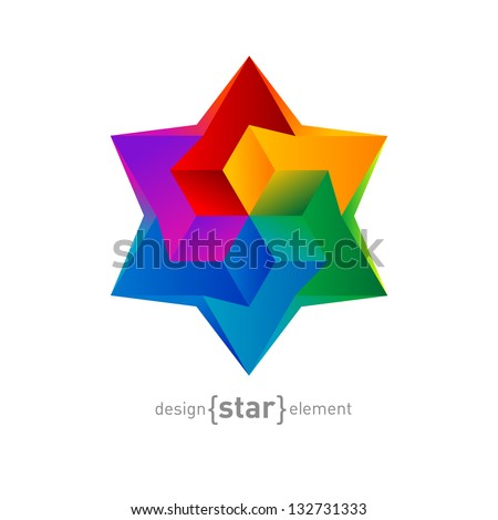the star of david abstract