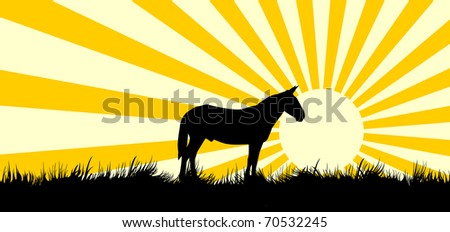 the stylized silhouette of a