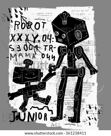 the symbolic image of robots