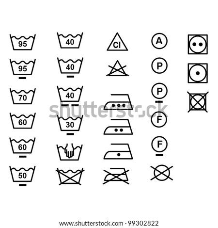 Clothes Dryers Tumble Dryer Symbols On Clothes