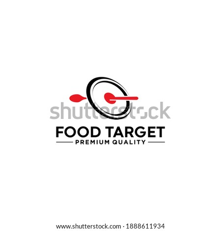 the target food logo with a