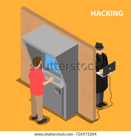 the thief hacks the software
