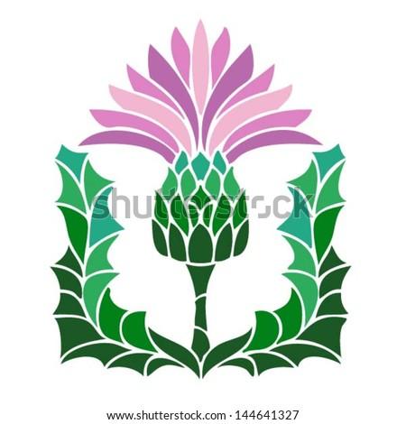 the thistle  the floral emblem