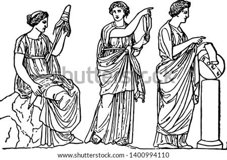 the three fates of greek