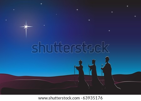 the three kings follow the star