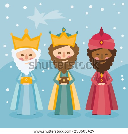 the three kings of orient on a