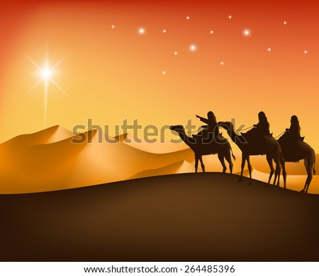 the three kings riding with