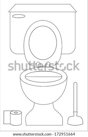 toilet paper outline You searched for: toilet decal etsy is the home to thousands of handmade, vintage, and one-of-a-kind products and gifts related to your search no matter what you're looking for or where you are in the world, our global marketplace of sellers can help you find unique and affordable options let's get started.