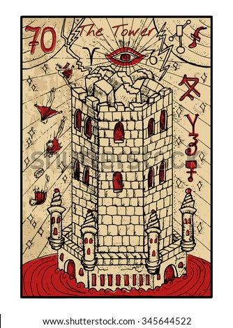 the tower  the major arcana