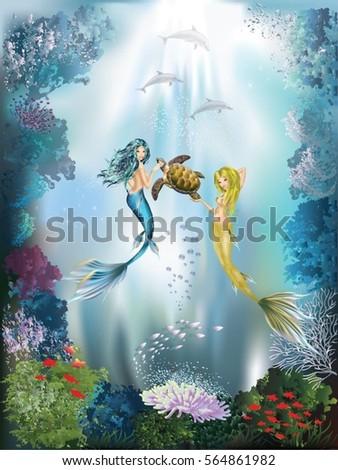 the underwater world of