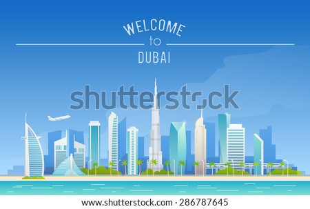the urban landscape of dubai
