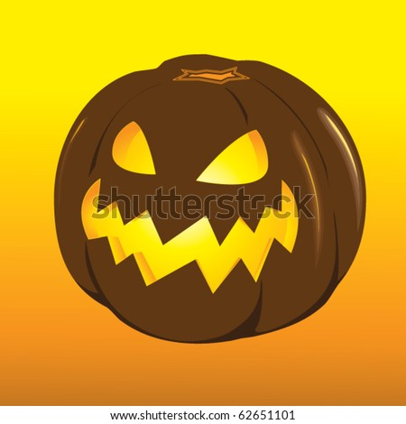 The Vector drawing, image. Holiday, Halloween.