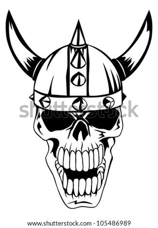 Royalty Free Vector Illustration Of A Cartoon Viking 405744922