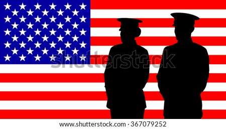 the vector of us marine