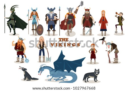 the vikings viking cartoon