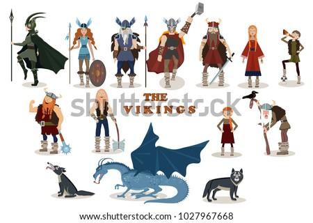 the vikings viking cartoon