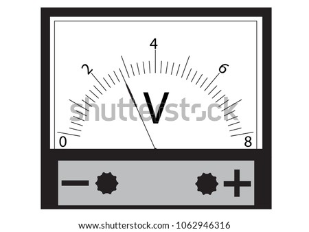 The voltmeter is a physical device for measuring the voltage in an electrical circuit.