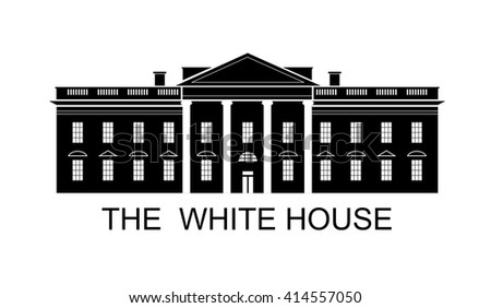 the white house vector free vector art at vecteezy rh vecteezy com White House Aerial White House Bathrooms