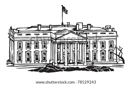 The White House official residence of the president of the United States