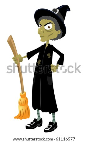 The Wicked Witch-vector