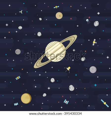 Vector free vectors download 4vector for Outer space pattern