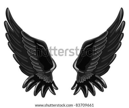the wings of a fallen angel