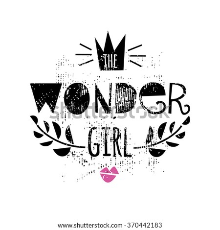 the wonder girl  fashion quote
