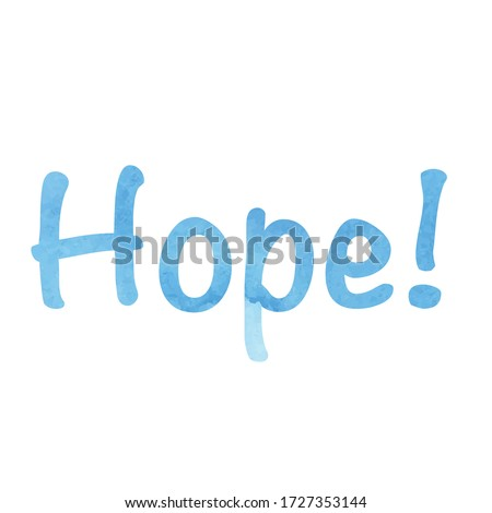 the word hope   motivational