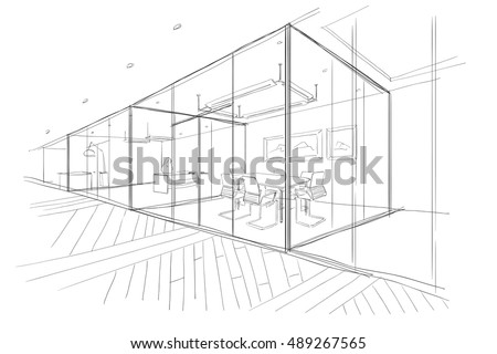 the workplace illustration