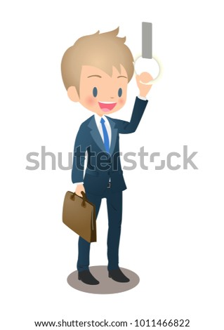 the young male businessman