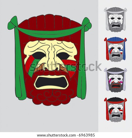 theatre mask clipart. masquerade ball makeup. buy