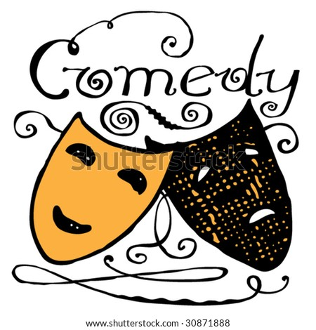 theatre mask clipart. theatre mask clipart. stock
