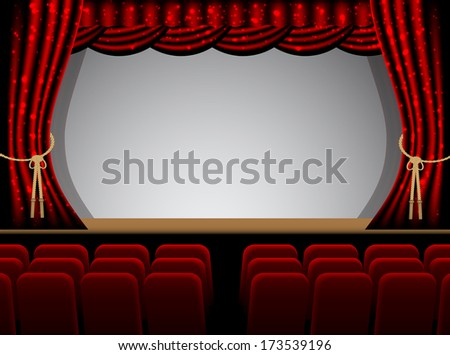 theater stage couple minutes