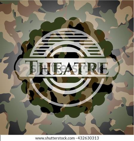 Theatre camo emblem