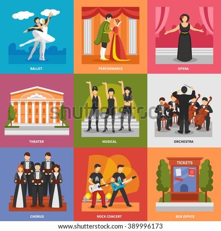 theatre compositions 3x3 design