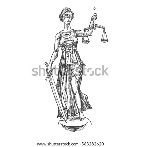 themis lady justice holding...