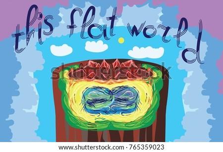 theory of flat world nature