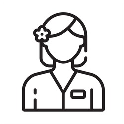 Therapist Icon, Physiotherapy And Rehabilitation, Exercises, And Massage Therapy Vector Line Medical Icons. Medical Patient, Physical Therapy Exercise Illustration.