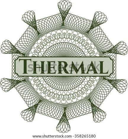 Thermal linear rosette