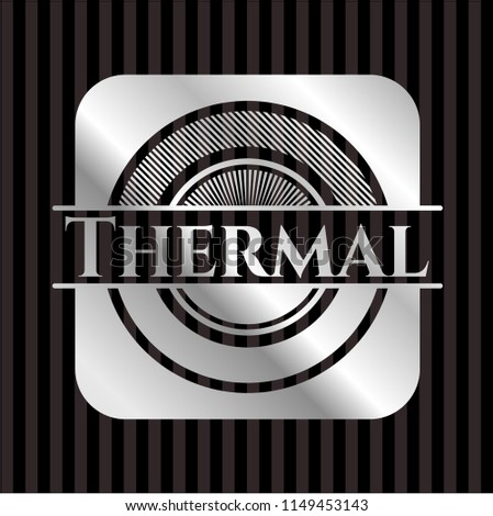 thermal silver emblem