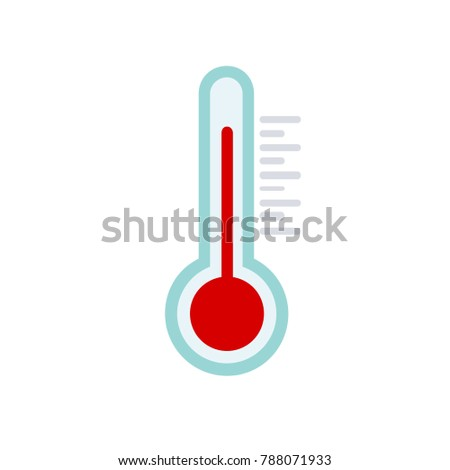 thermometer icon - weather symbol