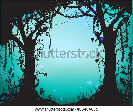 thicket  deep fairy forest