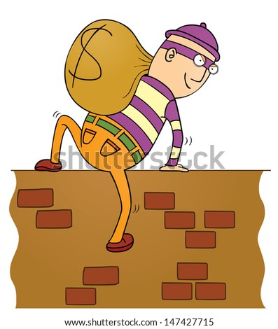 thief climbing wall