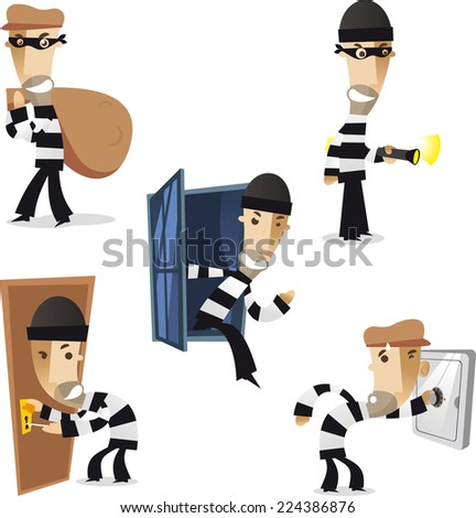 thief in action illustration