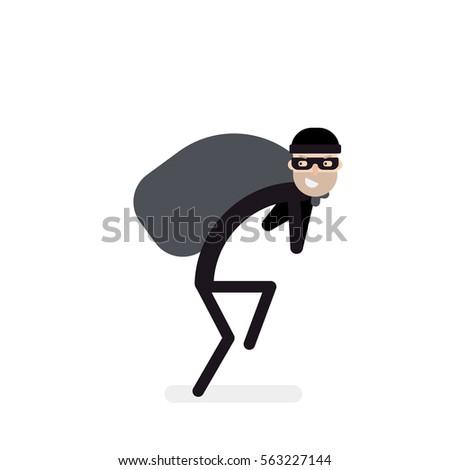 thief sneaks