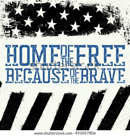 thin blue line flag american