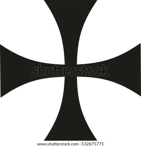 thin iron cross