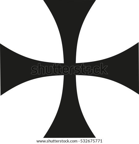 thin iron cross