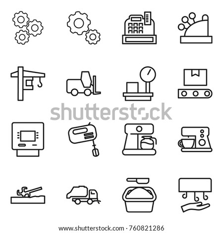 387087151 Shutterstock Water Pump Vector Icons Sets on pressure washing station