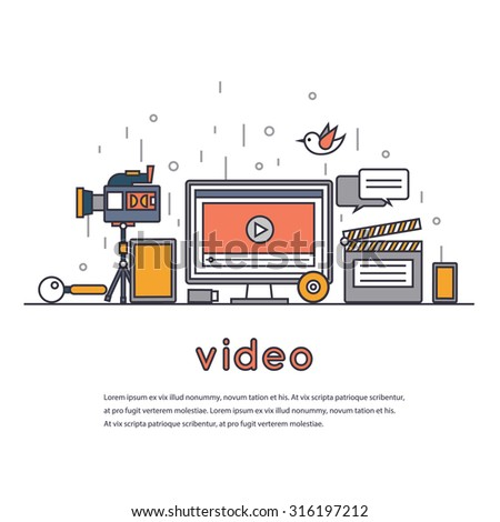 thin line video marketing